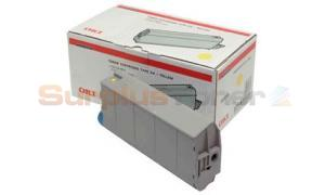 OKIDATA C7100/C7300/C7500 TYPE C4 TONER YELLOW (41963005)