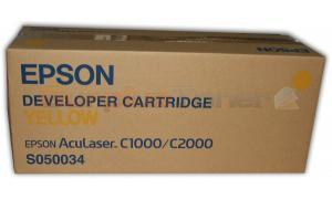 EPSON ACULASER C1000 C2000 DEVELOPER CART YELLOW (S050034)