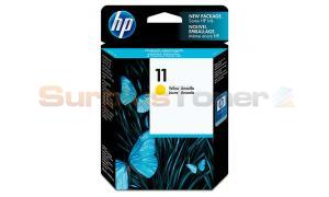 HP NO 11 INK CARTRIDGE YELLOW (C4838AE)