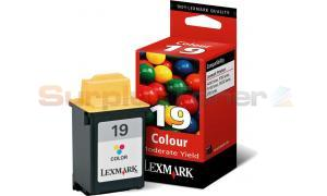 LEXMARK Z700 NO. 19 INK CART COLOR 260 PAGES (15M2619E)