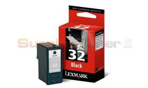 LEXMARK Z800 NO. 32 PRINT CART BLACK (18C0032)