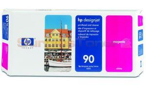 HP DESIGNJET 4000 NO 90 PRINTHEAD AND CLEANER MAGENTA (C5056A)