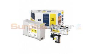 HP NO 90 INKJET CART YELLOW VALUE PACK (C5081A)