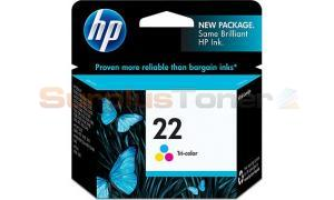 HP NO 22 INK TRI-COLOR (C9352AN)