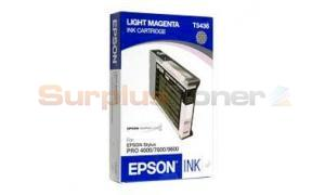 EPSON STYLUS PRO 4000 7600 9600 INK CART LIGHT MAGENTA 110ML (T543600)