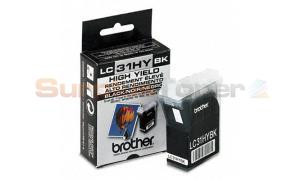 BROTHER MFC 3220C 3320CN 3420C 3820C INK CART BLACK HY (LC31HYBK)