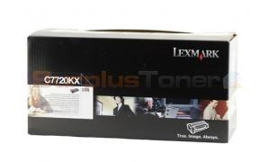LEXMARK C772 PRINT CARTRIDGE BLACK RP 15K (C7720KX)