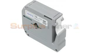 BROTHER P-TOUCH LABELERS BLUE/WHITE 1/2IN WIDTH (MK233)