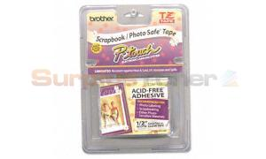 BROTHER TZ SERIES TAPE CTG BLACK ON CLEAR 1/2IN (TZ-AF131)