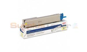 OKI C3400N TONER CARTRIDGE YELLOW 1K (43459401)