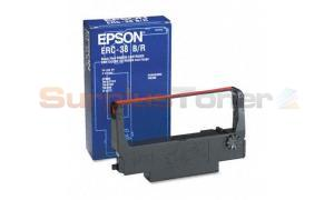 EPSON TM-U370 RIBBON BLACK AND RED 3M (ERC-38BR)