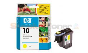 HP NO 10 INK PRINTHEAD YELLOW (C4803A)