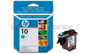 HP NO 10 PRINTHEAD CYAN (C4801A)