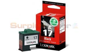 LEXMARK COLORJET Z13 INK CART BLACK (10N0017)