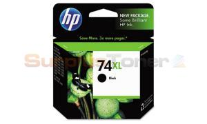 HP NO 74XL INK BLACK (CB336WN)