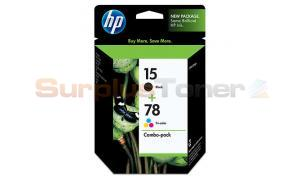 HP 15/78D INKJET PRINT CARTRIDGE COMBO PACK (C8789BN#140)