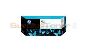 HP 772 DESIGNJET INK CARTRIDGE YELLOW 300ML (CN630A)