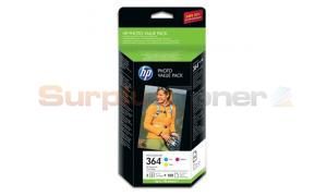 HP 364 PHOTOSMART VALUE PACK CMY + PAPER (CG927EE)