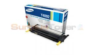 SAMSUNG CLP-315 CLX-3175FN TONER CARTRIDGE YELLOW (CLT-Y4092S/ELS)