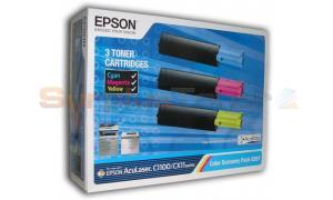 EPSON ACULASER C1100 COLOR ECONOMY PACK (S050287)