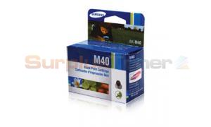 SAMSUNG SF-330 SF-340 INK CARTRIDGE BLACK (INK-M40/ELS)