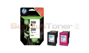 HP 300 INK CARTRIDGE COMBO-PACK (BLACK/TRI-COLOR) (CN637EE)