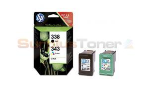 HP 338 343 INK CART CMYK COMBO-PACK (SD449EE#301)