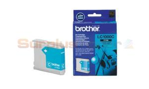 BROTHER DCP130C 330C MFC240C INK CARTRIDGE CYAN (LC-1000C)