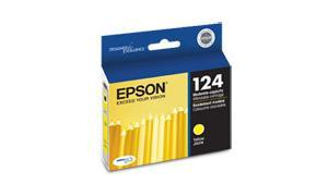 EPSON STYLUS NX125 MODERATE-USE INK CARTRIDGE YELLOW (T124420)
