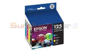 EPSON STYLUS NX625 INK CARTRIDGES COMBO-PACK CMYK (T125120-BCS)
