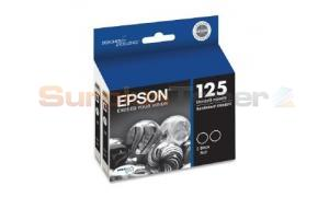EPSON STYLUS NX625 INK CARTRIDGES BLACK (T125120-D2)