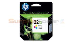 HP 22XL INK CARTRIDGE TRI-COLOR (C9352CL)