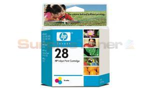 HP 28 INK CARTRIDGE TRI-COLOR (C8728AL)