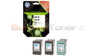 HP 350 350 351 INK CARTRIDGES TRI-PACK (SD448EE)