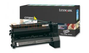 LEXMARK C772 PRINT CARTRIDGE YELLOW RP 15K (C7720YX)