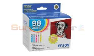 EPSON 98 ARTISAN 700 AIO MULTI-PACK HY CMY LC LM (T098920)