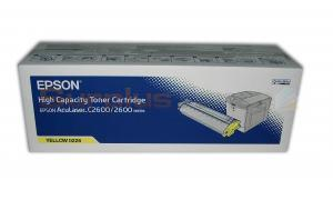 EPSON C2600 SERIES TONER YELLOW HY (S050226)