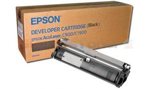 EPSON C900 C1900 DEVELOPER CARTRIDGE BLACK (S050100)
