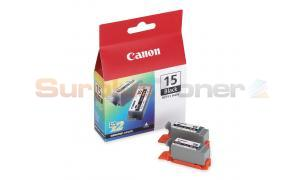CANON BCI-15BK BLACK INKJET CARTRIDGE (8190A003)