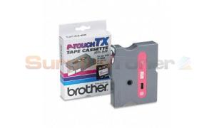 BROTHER P-TOUCH TAPE RED/WHITE 12 MM X15 M (TX-2321)