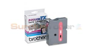 BROTHER P-TOUCH TAPE RED/WHITE (24 MM X 15 M) (TX-2521)