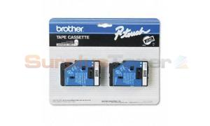 BROTHER P-TOUCH TAPE WHITE/BLACK (3/8 X 25) (TC-34Z)