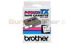 BROTHER P-TOUCH TAPE WHITE/CLEAR (24 MM X 15 M) (TX-1551)