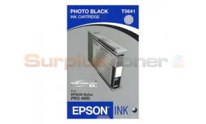 EPSON STYLUS PRO 4800 INK CART PHOTO BLACK 110ML (T564100)