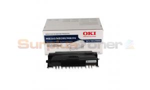 OKIDATA MB260 TONER CARTRIDGE BLACK 5.5K (56123402)