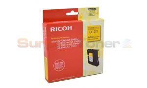 RICOH GX3000 GC21Y PRINT CARTRIDGE YELLOW 1K (405535)