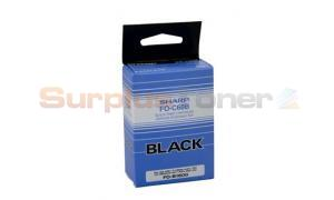 SHARP FO-B1600 INK CARTRIDGE BLACK 500PAGES (FOC60B)