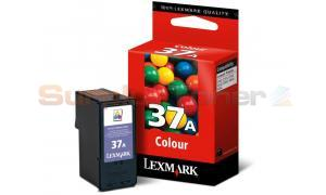 LEXMARK NO 37A PRINT CARTRIDGE COLOR (18C2160E)
