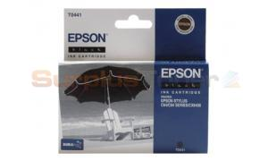 EPSON STYLUS C64 INK CARTRIDGE BLACK (C13T044140)