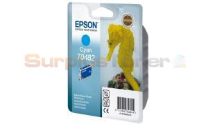 EPSON PHOTO R200 RX500 RX600 RX620 INK CYAN (C13T04824010)
